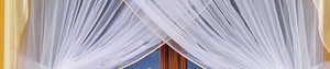 LIVING ROOM NET CURTAINS WITH DRAPERY width 220 - 280 cm, height 250 cm, OR SEWED TO SIZE, N333