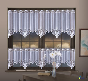 KITCHEN CAFE CURTAINS SOLD BY THE METRE height 50 or 70 cm, N205